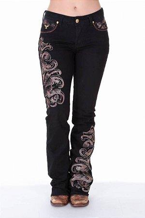 Calça Jeans Zenz Western Kenny Black ZW0218017 - Vitrine do Cowboy ... e2fdf103f0b
