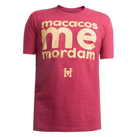 Camiseta Hey Roy Masculina Vermelha 1001