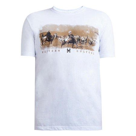 Camiseta Hey Roy Masculina Branca 1003