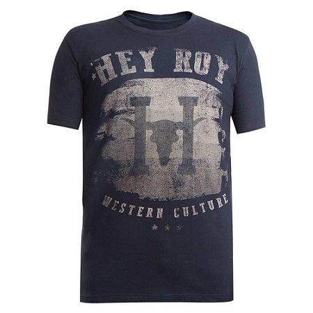 Camiseta Hey Roy Masculina Preta 1007