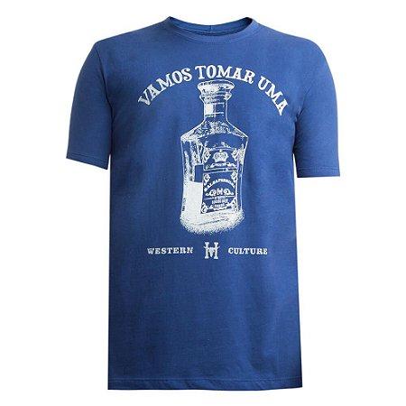 Camiseta Hey Roy Masculina Azul 1008
