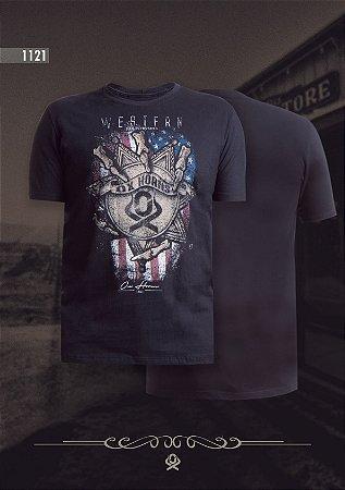 Camiseta Ox Horns Masculina Preta 1121