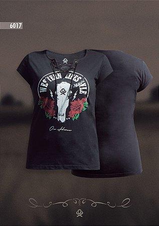 Camiseta Ox Horns Feminina Preta 6017