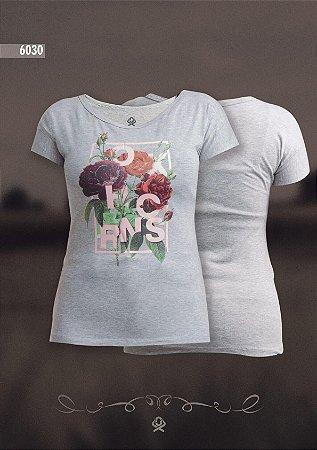 Camiseta Ox Horns Feminina Mescla 6030