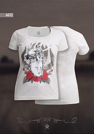 Camiseta Ox Horns Feminina Mescla 6032