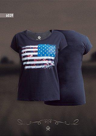 Camiseta Ox Horns Feminina Preta 6039