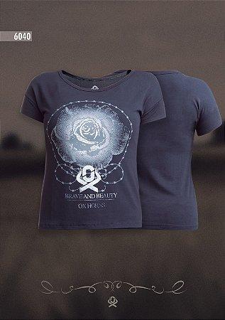 Camiseta Ox Horns Feminina Preta 6040