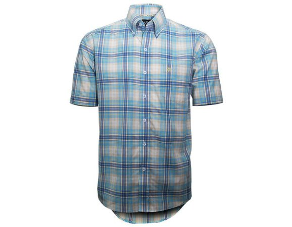Camisa Tuff Masculina Xadrez Azul Clara 1016C - Vitrine do Cowboy ... 197a60750dd
