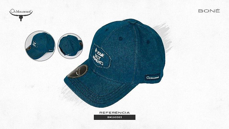 Bone Os Moiadeiros Azul Profundo Bm190203