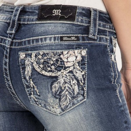 Calça Jeans Miss Me Feminina Filtro dos Sonhos
