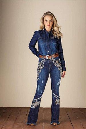 Calça Jeans Minuty Feminina Flare 19466