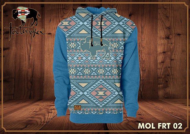 Moletom Tatanka Azul Navajo FRT02