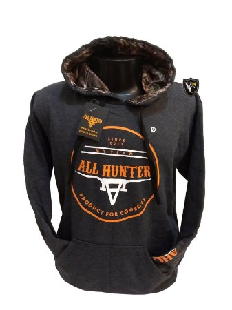 Moletom All Hunter Copper Cinza 598