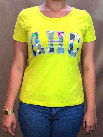 Camiseta All Hunter Silk Note Verde 585