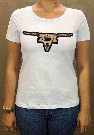 Camiseta All Hunter Silk Dark Branca 580