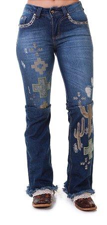 Calça Jeans Zenz Western Nairobi Zw0319019