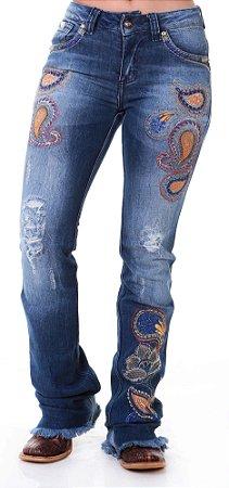 Calça Jeans Zenz Western Selvagem Zw0319024