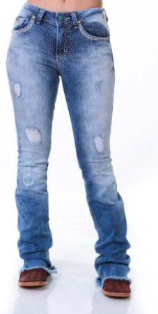 Calça Jeans Zenz Western Eagle Zw0319028