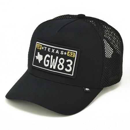 Bone Trucker Aba Curva Gringa Texas Trk053