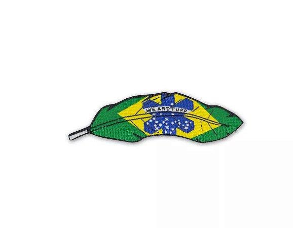 Patch Tuff Adesivo De Tecido Pena Brasil
