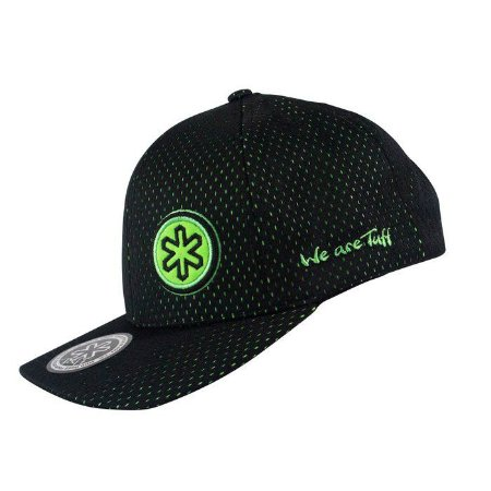 Boné Tuff Preto Circle Green 0761