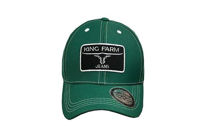 Boné King Farm Verde Tradicional KF876