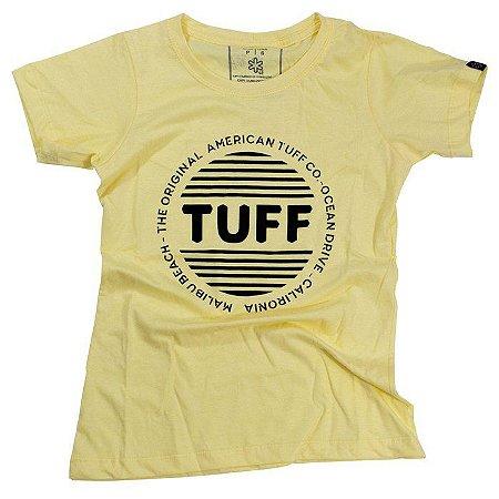 Camiseta Tuff Fem. Amarelo Claro Silk 1215