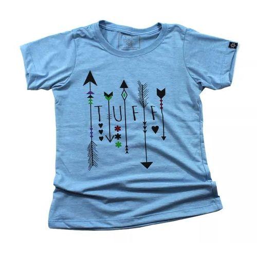 Camiseta Tuff Fem. Azul Malibu Arrows Tuff 1283
