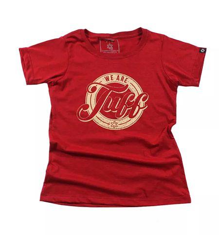 Camiseta Tuff Fem. Vermelha Silk Bege 1285