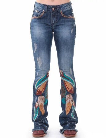 Calça Jeans Zenz Western Folk