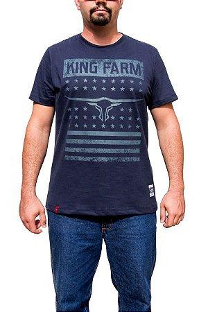 Camiseta King Farm Masculina Azul Marinho GCM38