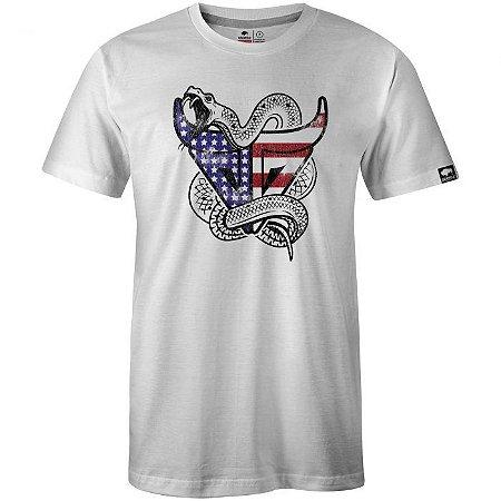 Camiseta Gringa Snake Branco 0419107