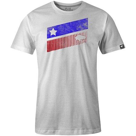Camiseta Gringas White Texas Stripes 10040