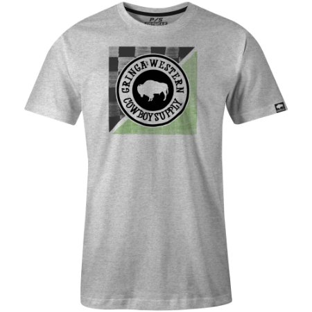 Camiseta Gringas Gunmetal Trouble 9050