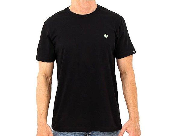 Camiseta Tuff Masc Basica Preta TS1414