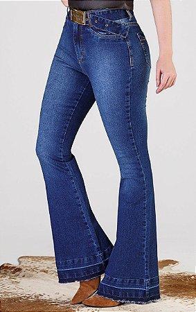 Calça Jeans Minuty Max Flare Hot Pant 19521