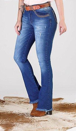 Calça Jeans Minuty Feminina Boot Cut 19500