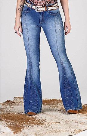 Calça Jeans Minuty Feminina Max Flare 19542