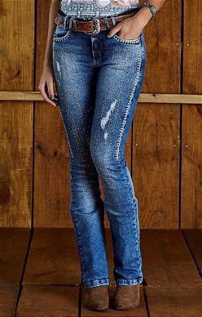 Calça Jeans Minuty Feminina Boot Cos Medio 20591