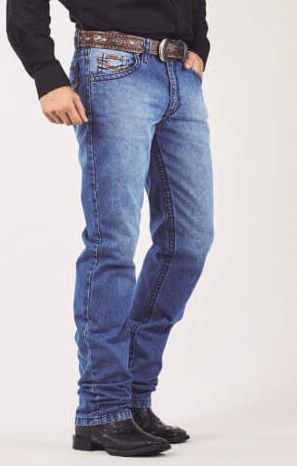 Calça Jeans Docks Pesponto Largo 2500
