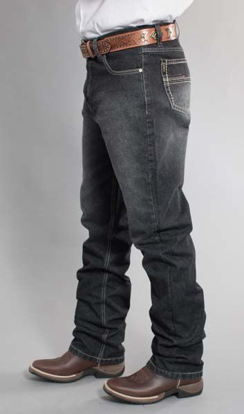 Calça Jeans Docks Black Relaxed Black 2552