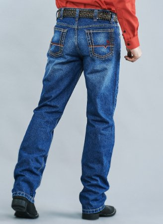 Calça Jeans Docks Red Relaxed 2470