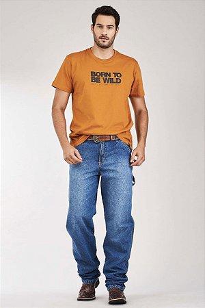Calça Jeans Docks Carpinteira Bordado 2074