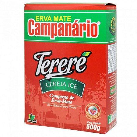 Erva Mate Tereré Campanário Cereja Ice 500g