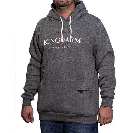 MOLETOM KING FARM GRAFITE MMXX012