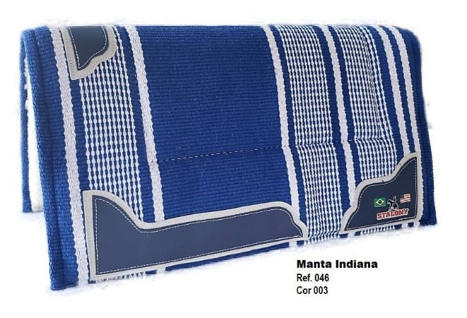 Manta Indiana Stalony Azul 46003