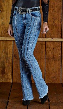 Calça Jeans Minuty Feminina Cós Medio 20593