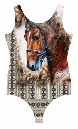 Body Minuty Com Brilho Ombro Brown Horse 750