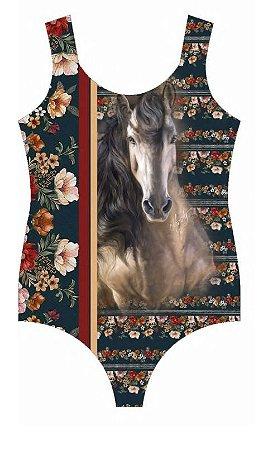 Body Minuty Estampado Floral Horse 721