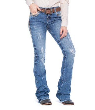Calça Jeans Zenz Western Navy Zw0320004